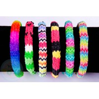 Rainbow Loom HEXAFISH Template