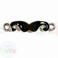 Rainbow Loom Charm - Mustache, Mustach