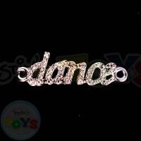 Rhinestone Charm - Dance