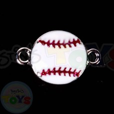Rainbow Loom Charm - Baseball