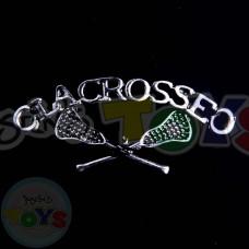 Rainbow Loom Charm - Lacrosse