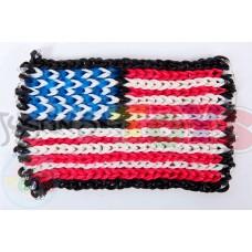 Rainbow Loom 2d Image Templates American Flag