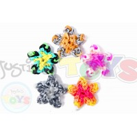 Rainbow Loom Star Charm Template