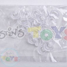 Rainbow Loom C-Clips - 20 Pack