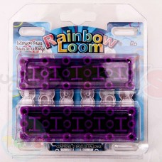 Rainbow Loom Extension 6 Six Row Large Purple Base