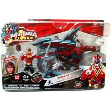 Power Rangers Samurai SharkZord & Shark Attack Ranger Jayden Action Figure