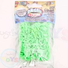Green Rainbow Loom Alpha Bands