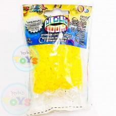 Yellow Rainbow Loom Alpha Bands