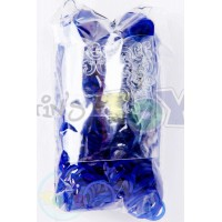NAVY BLUE JELLY Refill - 600 Official Bands and Clips