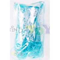 Rainbow Loom Refill Bands in Turquoise Jelly