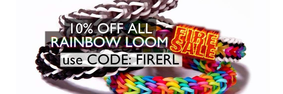 Rainbow Loom Fire Promo