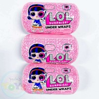 3 Pack L.O.L. Surprise Under Wraps Doll- Series Eye Spy 1A