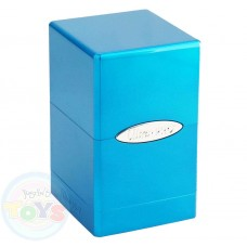ULTRA PRO SATIN TOWER DECK BOX Metallic Ice