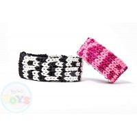 Rainbow Loom Name Bracelet Template