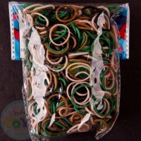 Rainbow Loom Refill Bands in Camouflage Army