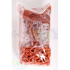 Rainbow Loom Refill Bands in Caramel