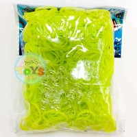 Rainbow Loom Refill Bands in Chartreuse