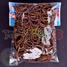 Rainbow Loom Refill Bands in Cocoa Brown