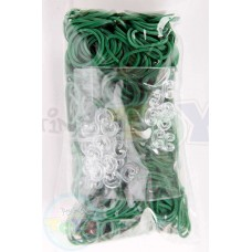 Rainbow Loom Refill Bands in Dark Green