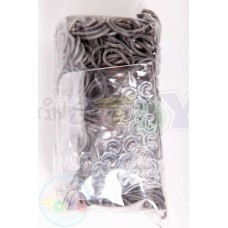 Rainbow Loom Refill Bands in Gray