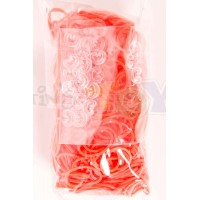 Rainbow Loom Refill Bands in Orange