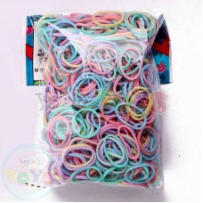 Rainbow Loom Refill Bands in Pastel Mix