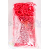 Rainbow Loom Refill Bands in Red