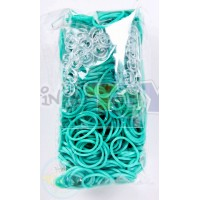 Rainbow Loom Refill Bands in Teal