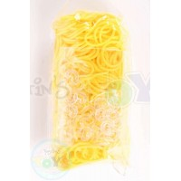 Rainbow Loom Refill Bands in Yellow