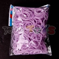 ELECTRIC PURPLE JELLY Refill - 600 Official Bands and Clips