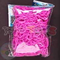 Pink FAIRY - Glitter - Refill 600 Official Bands and Clips