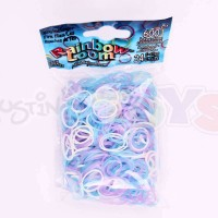 Rainbow Loom Refill Bands in Fire Fliew Glow in the Dark
