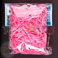 Rainbow Loom Refill Bands in Pink Pearl