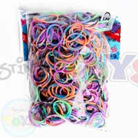 Rainbow Loom Refill Bands in Tie Dye