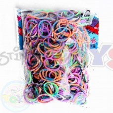 TIEDYE Refill - 600 Official Bands and Clips