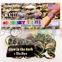 Tie Dye Camouflage Camo Refill Bands & Clips