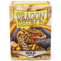 Dragon Shield Gold Matte