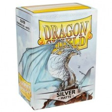 Dragon Shield Silver Matte